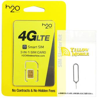 H2O Wireless Japan SIM